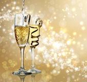Celebración del champán — Foto de Stock