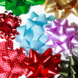 Variety of Gift Bows — Stock Photo