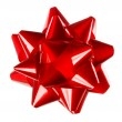 Stock Photo: Red Gift Bow