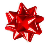 Red Gift Bow — Stock Photo