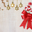 Stock Photo: Christmas Backdrop