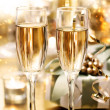 Shining Champagne Glasses (celebration) — Stock Photo #14851263