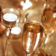 Sparkling Champagne Glasses (celebration) — Стоковая фотография