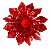 Red Sparkling Gift Bow — Stock Photo