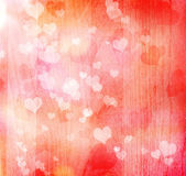 Valentine hearts background — Stock Photo