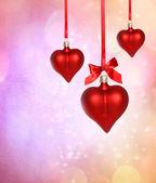 Valentine Heart Ornaments — Stock Photo