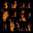 Assorted Flames — Stock Photo #18524737