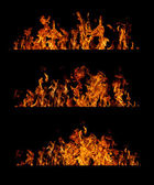 Collection de flamme — Photo