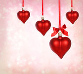 Valentine Heart Ornaments — Stock fotografie