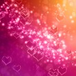 Hearts background — Stock Photo #18682553