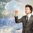 cloud computing concept — Stock Photo #19672225