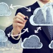 Cloud computing - Stock Photo