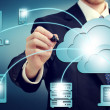 Cloud Computing Concept — Stock fotografie