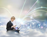 Cloud Computing Concept — Photo