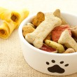 Dog food in bowl — Stock Photo #22467659