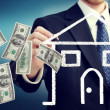 Stock Photo: Buying or Selling House Concept
