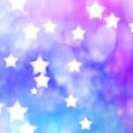 Blue, Purple, Star Lights Background — Stock Photo