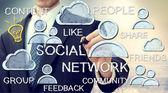 Social Media Concepts — Stock Photo