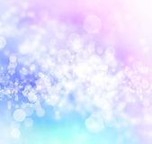 Modré, fialové, růžové abstraktní bokeh osvětlení pozadí — Stock fotografie