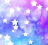 Blue, Purple, Star Lights Background — Stock Photo