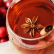 Drink with Star Anise and Cinnamon Stick — Stock Photo #27463127
