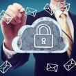 Secured Cloud Computing — Stock Photo #28168447