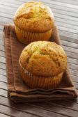 美味的罂粟籽松饼 — 图库照片