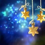 Christmas star ornaments — Stock Photo #31637633