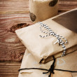 Presents wraped in rustic earthy style — Stock Photo #31900829