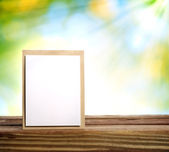 Handmade card with sun beam — Foto Stock