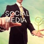 Social media concept — Stock Photo #34322859