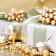 Foto Stock: Christmas Gift Box