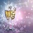 Two champagne glasses — Stock Photo #38728765