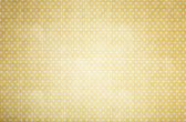 Yellow polka dots paper — Foto Stock
