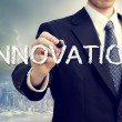 Stock Photo: Business Mwith Innovation Concept
