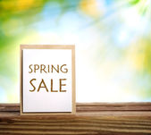 Spring Sale sign — Stock fotografie