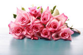 Güzel pembe güller — Stok fotoğraf