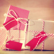 Red and White Gift boxes — Stock Photo #50317781