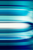 Blue Abstract Motion Blur — Stock Photo
