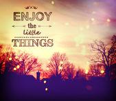 Apprécier les petites choses — Photo