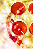 Holiday Cocktails — Stock Photo