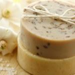 Natural handmade soap — Stock Photo #8312100