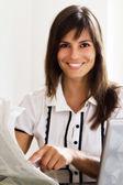 Hledání pracovní nabídku — Stock fotografie