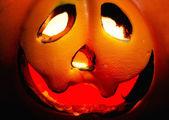 Halloween close up face — Stock Photo