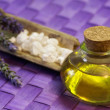 Stockfoto: Lavender essential oil