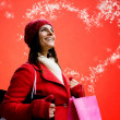 Magic christmas shopping — Stock Photo #14830767