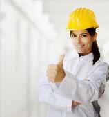 Controle de qualidade industrial — Foto Stock