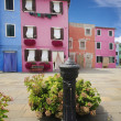 Burano island, Venice — Stock Photo
