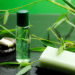 Bamboo spa — Stockfoto