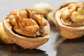 Walnut close up — Stock Photo
